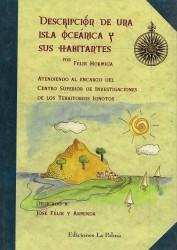 Descripción de una isla oceánica y sus habitantes