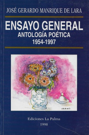 Ensayo general, antología poética 1954-1997